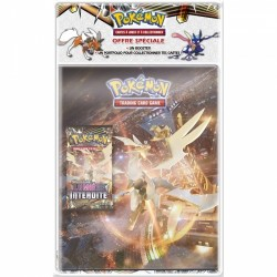 ASMODEE - PACK CAHIER RANGE-CARTES + BOOSTER POKÉMON SOLEIL & LUNE 6