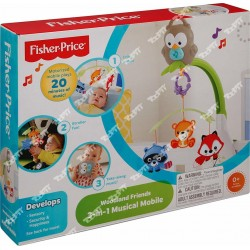 FISHER PRICE - 3IN1 MUSICAL MOBILE  4