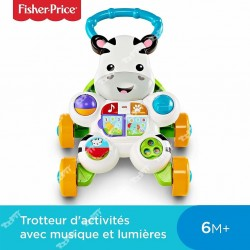FISHER PRICE - ZEBRA WALKER FR