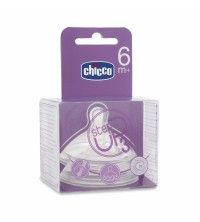 CHICCO - TETINE STEP UP 3PCS 6M+