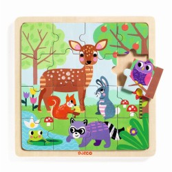 DJECO - PUZZLES BOIS PUZZLO FOREST