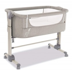 ASALVO - BED SIDE CRIB FOLD BEIGE