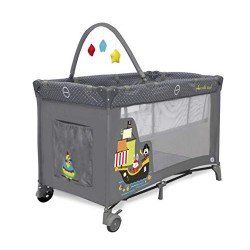 ASALVO - PARC LIT TRAVEL COT COMPLET DUO PIRATES