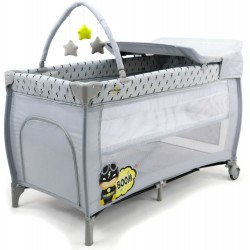 ASALVO - PARC LIT TRAVEL COT MIX PLUS CAPTAIN ASALVO