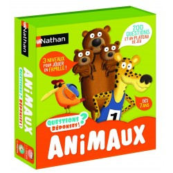 NATHAN - QUESTIONS RÉPONSES ! ANIMAUX