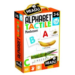 HEADU - Alphabet Tactile Montessori FR21215