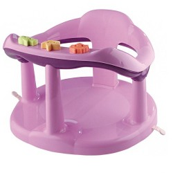 THERMOBABY - ANNEAU DE BAIN AQUABABY ROSE/PRUNE