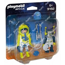 PLAYMOBIL - Astronaut and Robot Duo Pack