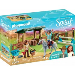 PLAYMOBIL - Paddock with Horse Shed