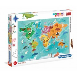 CLEMENTONI - PZL 180 THE MAP OF ANIMALS