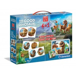 CLEMENTONI - EDUKIT 4 EN 1 THE GOOD DINO 13464