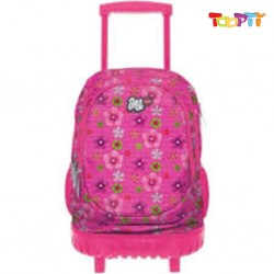 LYCSAC - ONE TROLLEY BAG  RED CAMELIA