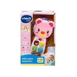 VTECH - ALL BEBE SURPRISES ROSE