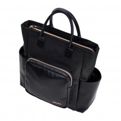 BEABA - SAC KYOTO BLACK/ROSE GOLD