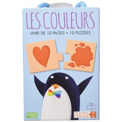 SASSI JUNIOR - PUZZLE 2 COULEURS
