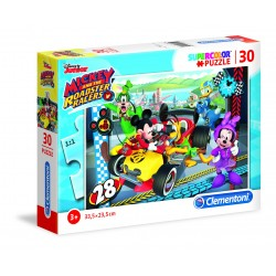 CLEMENTONI - PUZZLE 30 MICKEY AND THE ROADSTER RACERS