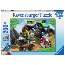 RAVENSBURGER - PUZZLE 200PCS POWER VEHICLES 12821