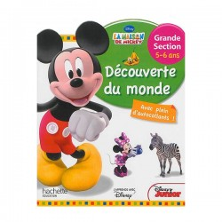 HACHETTE - MICKEY DECOUVERTE DU MONDE GS