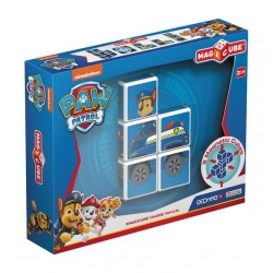 GEMOMAG - MAGICUBE PAW PATROL CHASE'S POLICE TRUCK