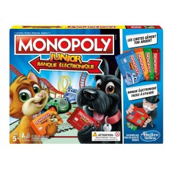 HASBRO - MONOPOLY ELECTRONIQUE JUNIOR E1842/101
