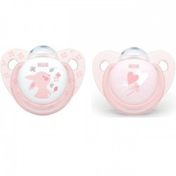 NUK - SUCETTE TAILLE 2 BABY ROSE