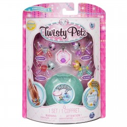 SPIN MASTER - TWISTY PETZ BABIES FOUR PACK