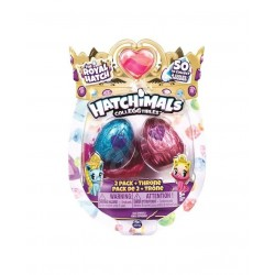HATCHIMALS - COLLEGGTIBLES THE ROYAL HATCH 2 FIGURINE