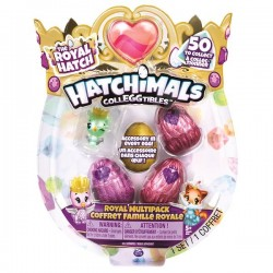 HATCHIMALS - COLLEGGTIBLES THE ROYAL HATCH 5 FIGURINE