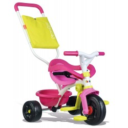 SMOBY - Tricycle Be Fun Confort bleu 740405