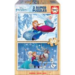 EDUCA - PUZZLE 2*50 FROZEN 16802