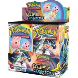 ASMODEE - BOOSTER POKEMON SOLEIL & LUNE 12 ECLIPSE COSMIQUE
