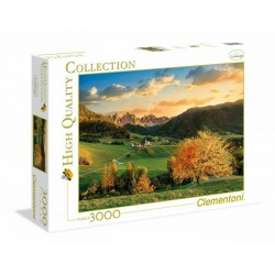 CLEMENTONI - THE ALPS - 3000 PIECES - HIGH QUALITY COLLECTION