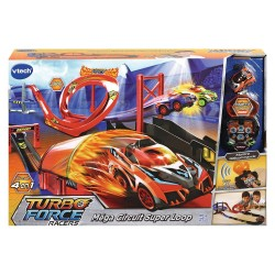 VTECH - TURBO FORCE MEGA CIRCUIT SUPER LOOP + MONTRE