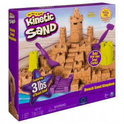 SPIN MASTER - KINETIC SAND BEACH SAND KINGDOM