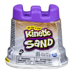 SPIN MASTER - MINI RECHARGE 140 G KINETIC SAND BLANC