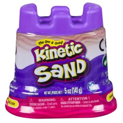 SPIN MASTER - MINI RECHARGE 140 G KINETIC SAND ROSE