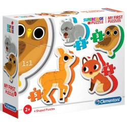 CLEMENTONI - FOREST ANIMALS PEZZI - MY FIRST PUZZLE