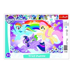 TREFL - PUZZLE 15 FRAME LITTLE PONEY 31280