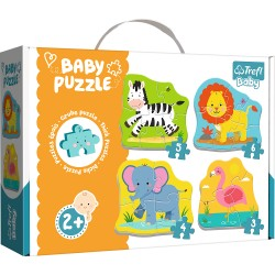 TREFL - PUZZLE BABY CLASSIC ANIMAUX SAUVAGES 36073