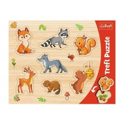 TREFL - PUZZLE SHAPED FOR-T 31307