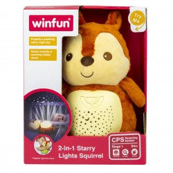WinFun - 2 IN 1 STRRY LIGHT SQUIRREL 000824-NL