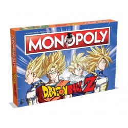 HASBRO - MONOPOLY DRAGON BALL Z WM0996
