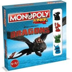 HASBRO - MONOPOLY JUNIOR DRAGONS WM0236