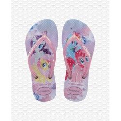 HAVAIANAS -  KIDS SLIM MY LITTLE PONY LAVANDER I02
