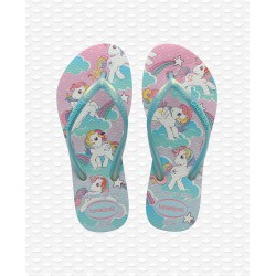 HAVAIANAS -  KIDS SLIM MY LITTLE PONY WHITE I02