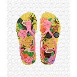 HAVAIANAS -  KIDS LUNA PRINT LEMON YELLOW I25
