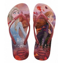 HAVAIANAS -  KIDS SLIM FROZEN CRYSTAL ROSE I02