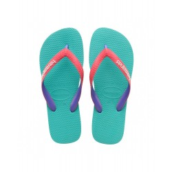 HAVAIANAS -  TOP MIX LAKE GREEN/FLAMINGO I25