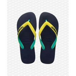 HAVAIANAS -  TOP MIX NAVY/NEON YELLOW I25