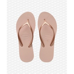 HAVAIANAS -  HIGH LIGHT BALLET ROSE/GOLDEN BLUSH F40